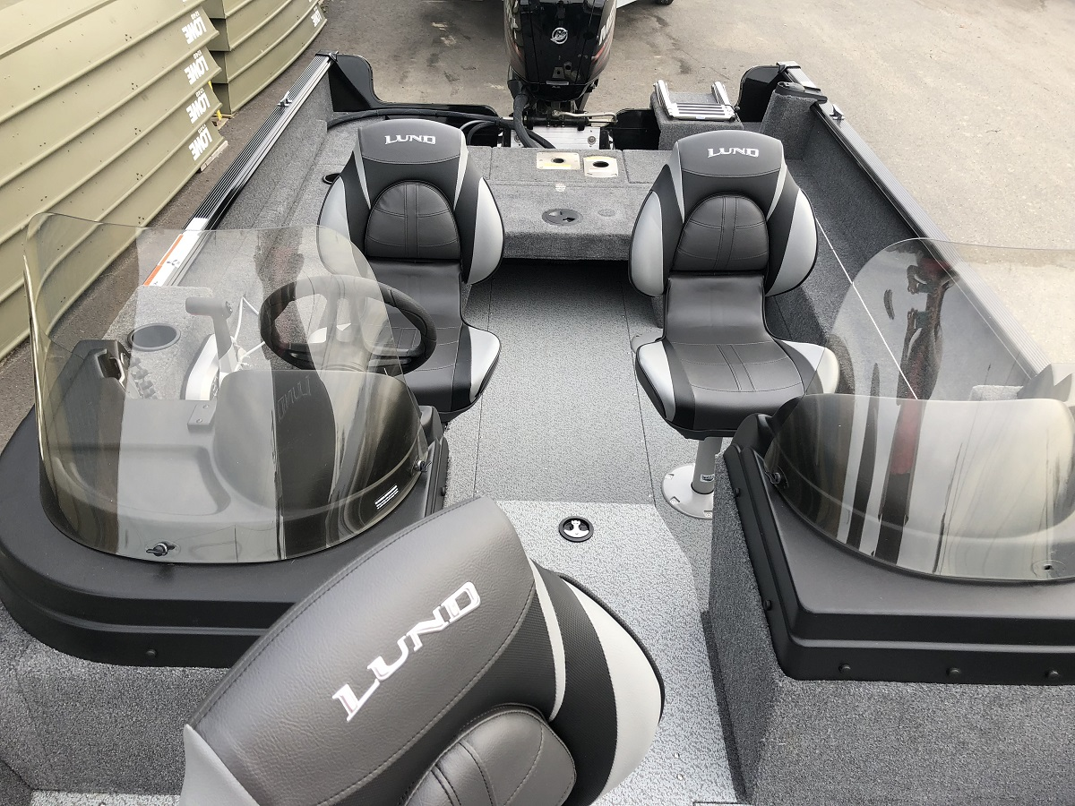 Lund Walk Through Windshield - 1650 Rebel Sport 2018 Model 29990
